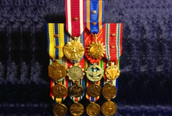 Flat Mounted Mini Medal Sets