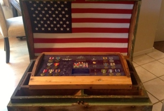 Military Shadowbox Arrangements
